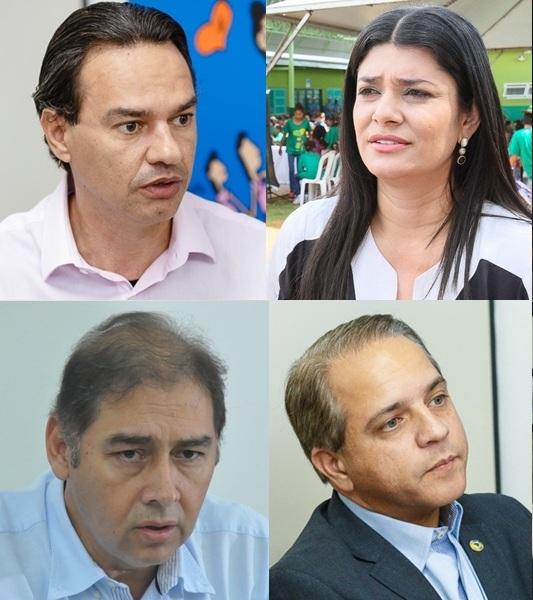 Candidatos percorrem bairros da Capital nesta terça-feira