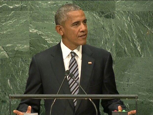 Em último discurso na Assembleia da ONU, Obama pede cooperação