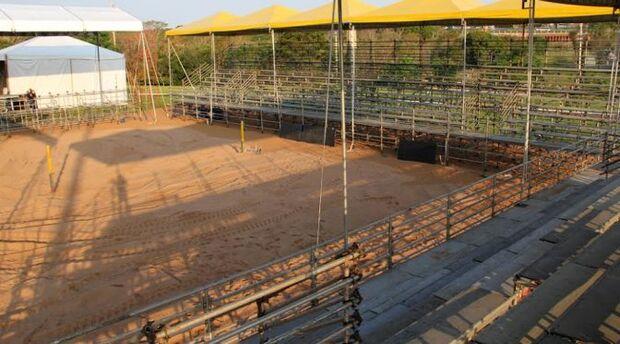 Parque das Nações se prepara para receber Open de vôlei de praia