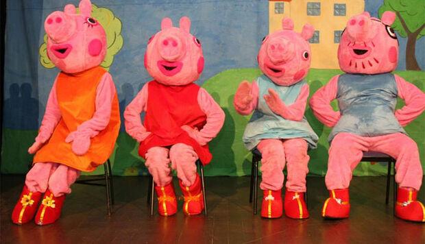 Espetáculo Peppa Pig presenteia criançada em outubro na Capital