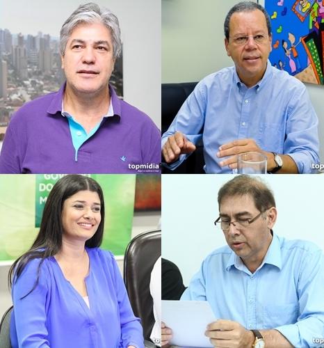 Candidatos percorrem bairros e concedem entrevista nesta sexta-feira