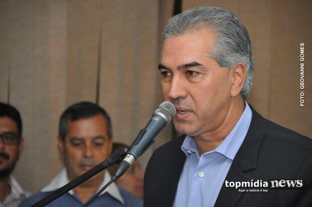 Reinaldo quer encontro com Temer para discutir segurança na fronteira e sistema prisional