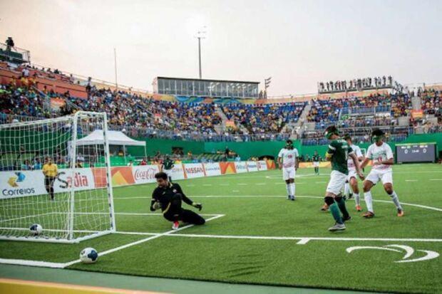 Seleção brasileira vence o Irã no futebol de 5 e fatura o ouro nos Jogos Paralímpicos