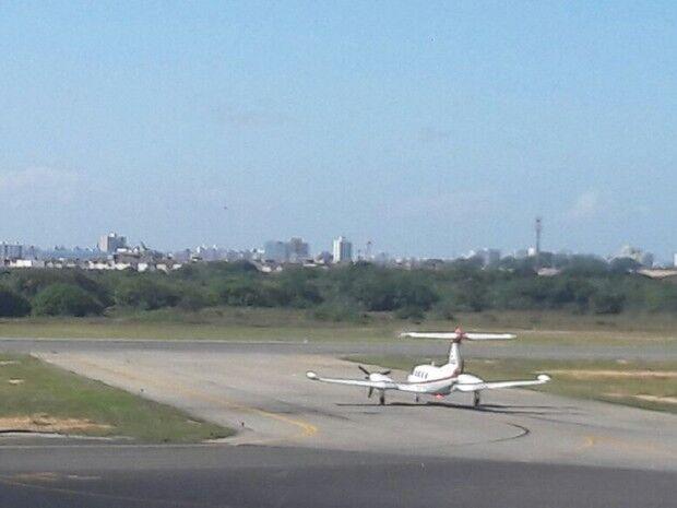 Corpo de Domingos Montagner deixa Aracaju em voo particular