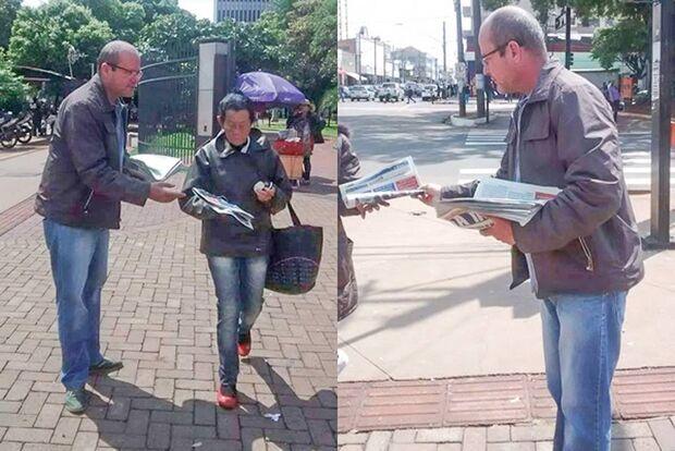 Denúncia: Comissionado de Bernal, 'rei dos fakes' faz campanha durante horário de expediente