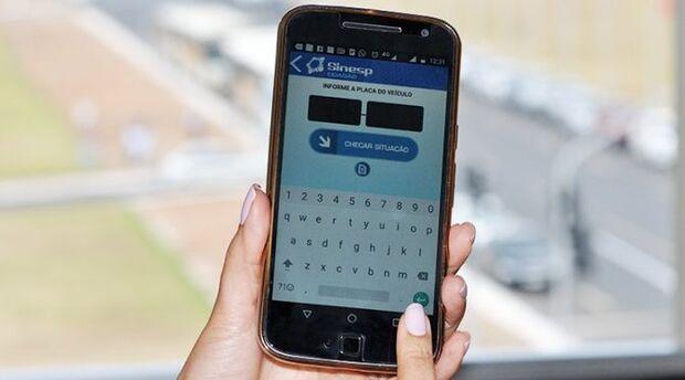 Aplicativo ajuda a recuperar 323 mil veículos e prender 69 mil condenados