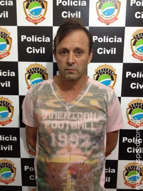 Suspeito de estuprar crianças de 10 e 12 anos em Santa Catarina é preso em Maracaju