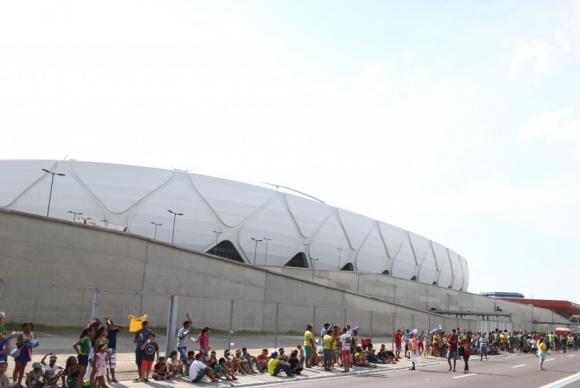 Seleção brasileira vence a Colômbia na Arena da Amazônia