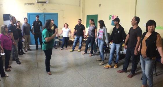 Técnicos e agentes da Unei Dom Bosco recebem treinamento de desenvolvimento pessoal