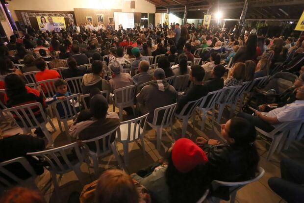 Rose lança candidatos a vereadores em evento com mais de mil pessoas