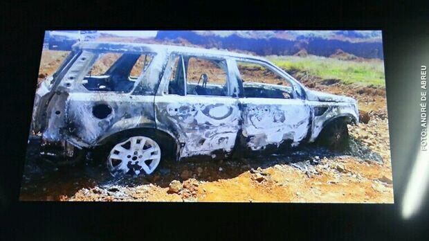 Polícia tem '99% de certeza' que Land Rover incinerada é de Alceu Bueno