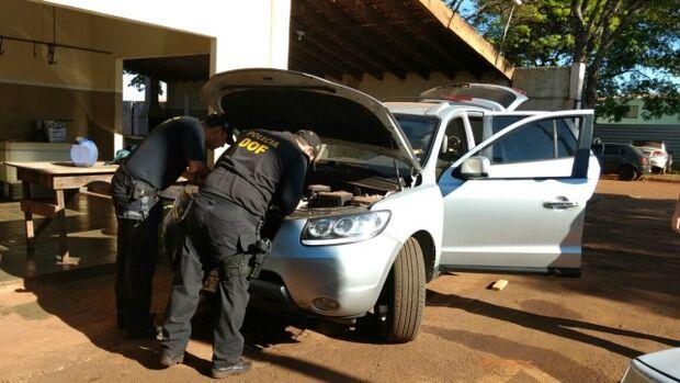Após perseguição, DOF apreende maconha dentro de veículo
