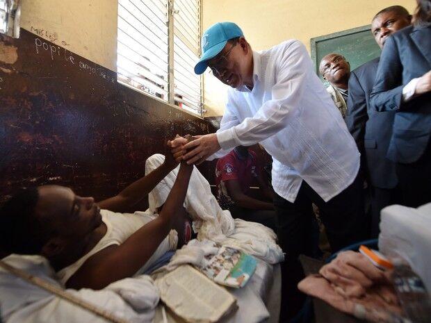 ONU promete mais ajuda ao Haiti após saques perto de base