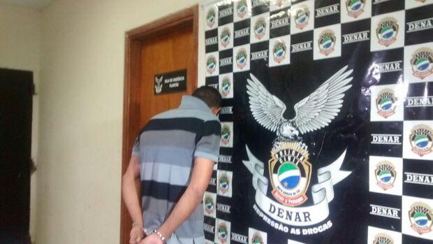 Preso traficante responsável por ''disque entrega'' no Presídio de Segurança Máxima