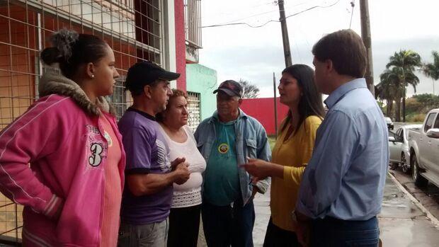 Moradores de pior área de alagamento de Campo Grande pedem ajuda de candidata