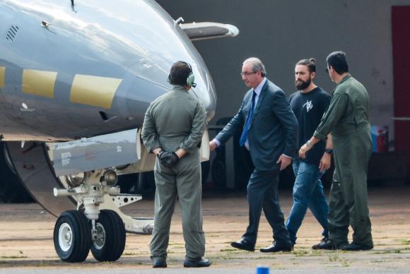 Prisão de Cunha não interfere em votações do Congresso, diz Temer