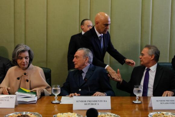 'Ela é exemplo de caráter', diz Renan sobre presidente do Supremo, Cármen Lúcia