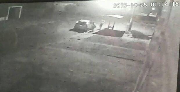 Vídeo: câmeras flagram três homens em ação durante tentativa de assassinato na Capital