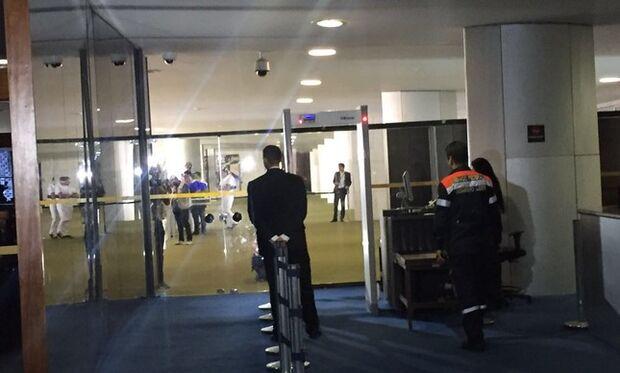 Ameaça de bomba no Congresso Nacional interdita Salão Verde