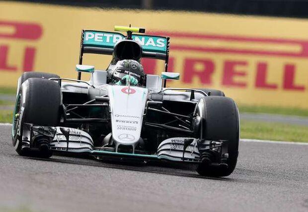 Rosberg bate e Hamilton larga em primeiro no GP do Japão