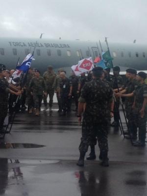 Conferência com comandantes de cinco países é realizada na Brigada Guaicurus