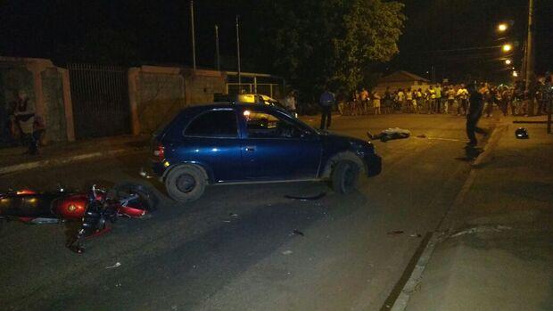 Motociclista de 42 anos é atropelado por carro e morre no São Jorge da Lagoa