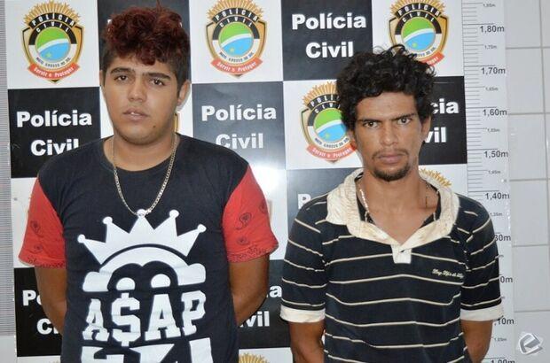 Um dia após roubo, polícia prende assaltantes de farmácia em Coxim