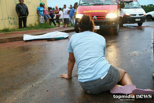 Homem é executado com tiro no tórax no bairro Nova Lima