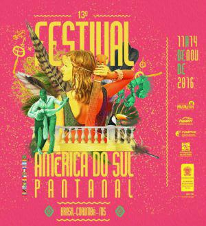 Festival América do Sul Pantanal será lançado na próxima segunda-feira