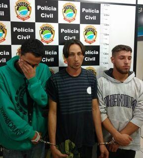 Trio é preso em flagrante com maconha avaliada em R$ 6,4 mil