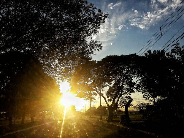 Segunda-feira será de calor intenso em Mato Grosso do Sul
