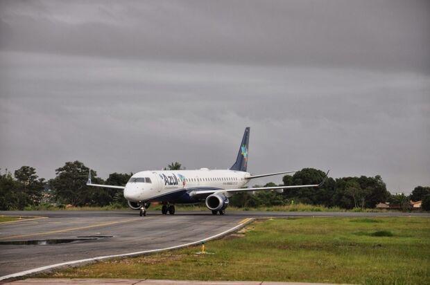 Apesar do tempo fechado, Aeroporto opera normalmente na Capital