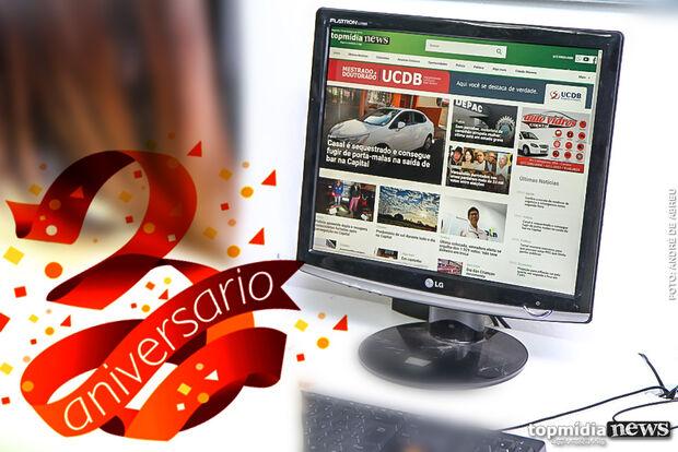 Portal TopMídiaNews celebra três anos no ar nesta terça-feira