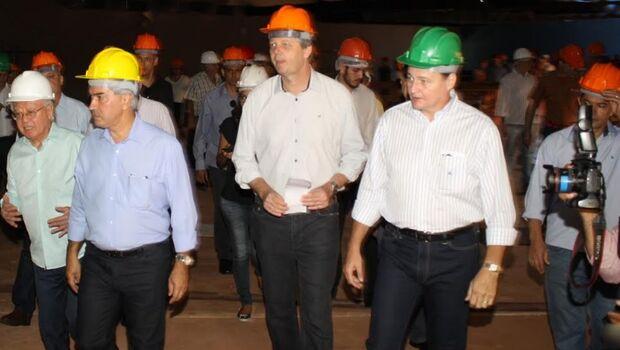 Aquário do Pantanal continua, mas não é prioridade, diz Reinaldo sobre obra de R$ 247 milhões