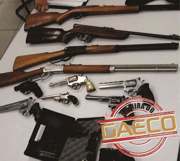 Homem que concorreu a vice-prefeito em Bela Vista é preso com armas e munições