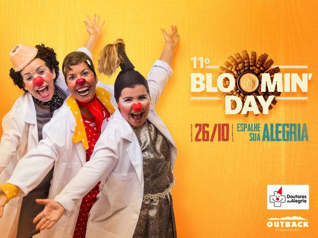 Outback Steakhouse realiza Bloomin' Day e convoca clientes em prol do Doutores da Alegria