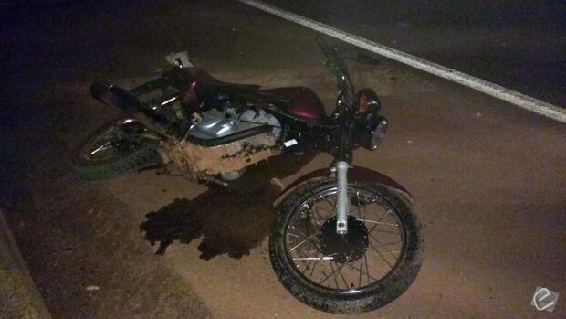 Motociclista sem CNH morre após colidir contra veículo na BR-163