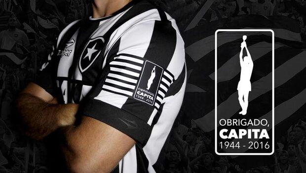 Botafogo faz camisa especial para homenagear Capita contra o Coxa