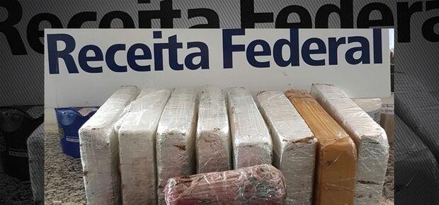 Peruano tenta atravessar a fronteira a pé com quase 10 quilos de cocaína