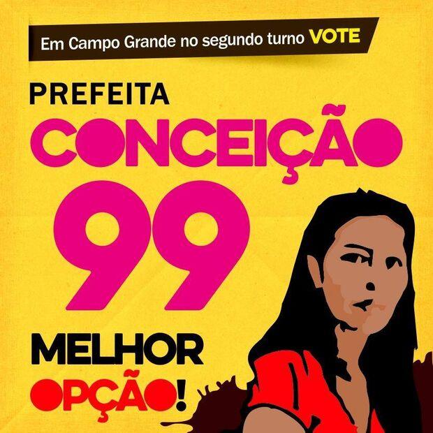 'Candidatura' de 'Conceição 99' reacende debate sobre o voto de protesto em Campo Grande