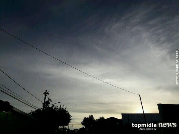 Dia terá vendaval e baixas temperaturas em Mato Grosso do Sul