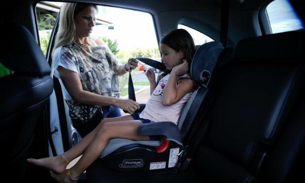 Multa por falta de cadeirinha infantil em veículos ficará mais cara