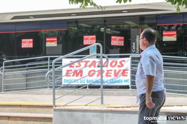 Bancários de MS aceitam proposta de reajuste e encerram greve de 31 dias