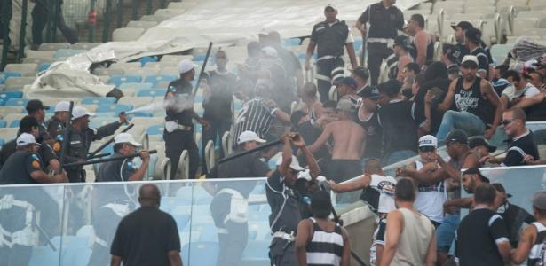 Justiça decreta prisão preventiva de torcedores envolvidos em briga no Maracanã