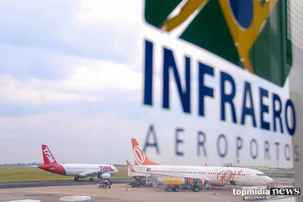Aeroporto opera sem restrições nesta quarta-feira