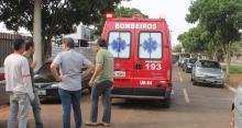 Operário tem mal súbito e cai de andaime em Chapadão do Sul
