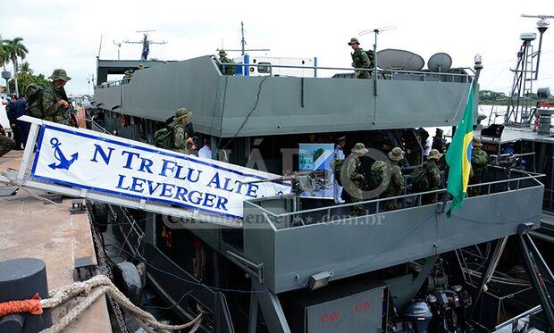 Ação de segurança mobiliza mais de dois mil militares da Marinha e Exército na fronteira
