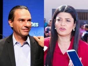 Candidatos relembram Mandetta e Olarte em debate