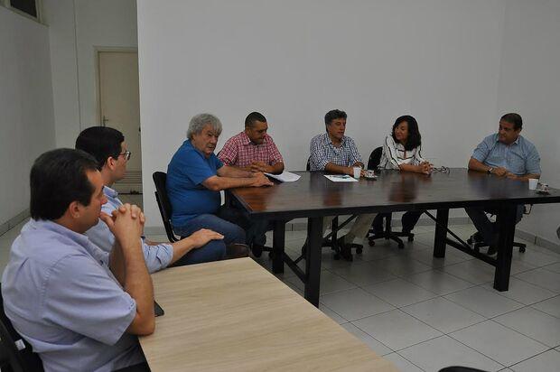 Dourados: Délia e Murilo se reúnem para iniciar transição administrativa