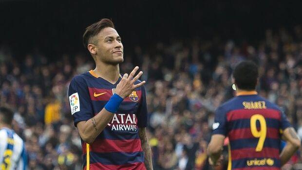 Neymar é único brasileiro na lista do prêmio 'Bola de Ouro'
